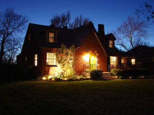 Holiday company landscape lighting