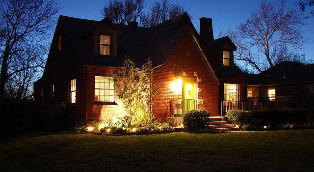 Holiday company landscape lighting