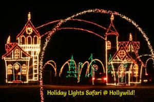 Hollywild Holiday Lights Safari 2017