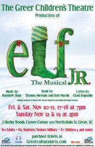 Elf Jr. The musical